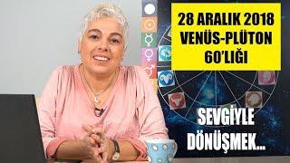 28 Aralık 2018 Venüs - Plüton 60 derecelik açısının etkileri
