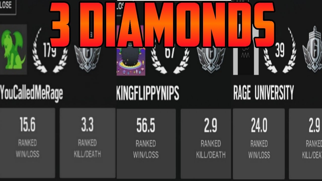 Images of Diamond R6 Rank Png - #rock-cafe