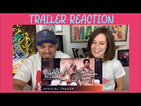 Gulabo Sitabo | Official Trailer Reaction | Amitabh Bachchan | Ayushmann Khurrana