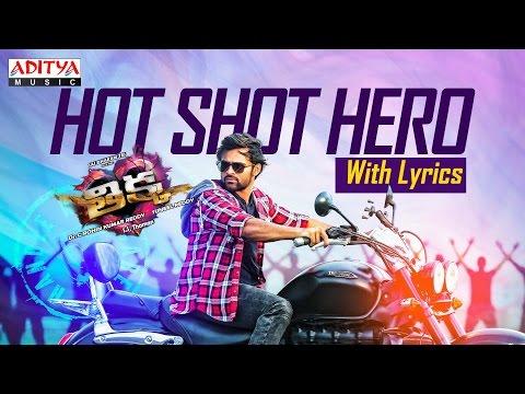Hot shot Hero Song with Lyrics | Thikka Songs | Sai Dharam Tej,Larissa,Mannara | STR ,SS Thaman