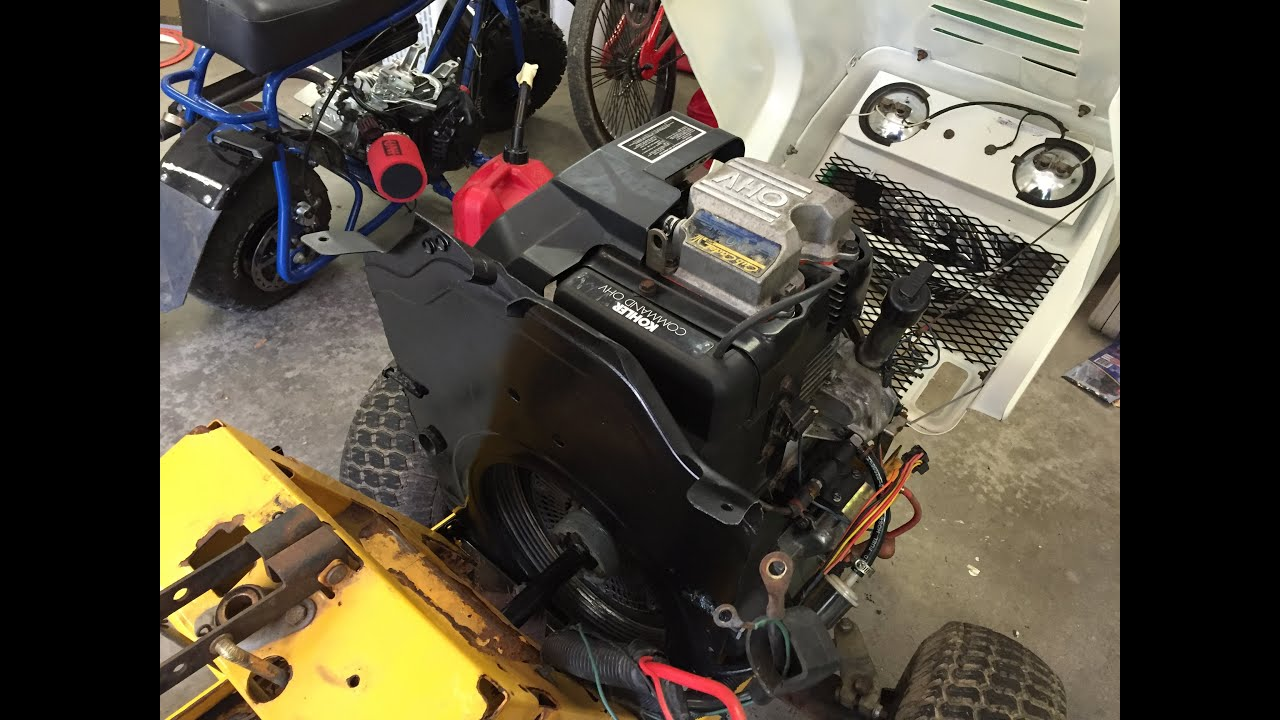 Cub Cadet 2000 Series Build Pt6