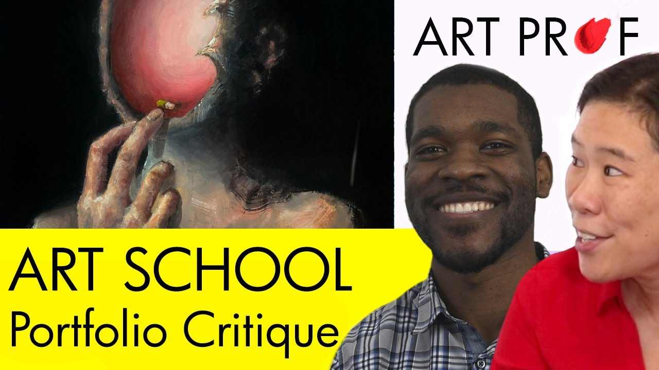 Art Professor Critiques Your Art School Portfolio