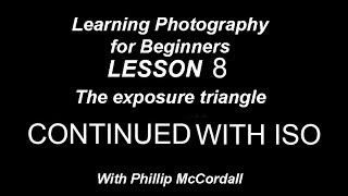 Photography For beginners Changing to aperture priority Cont'd