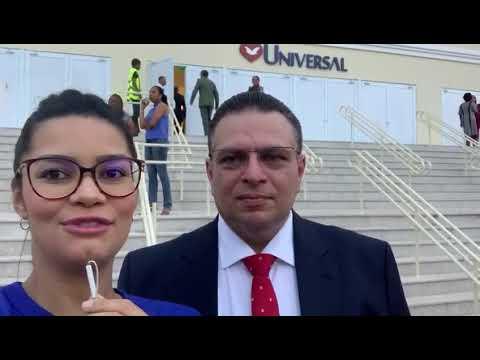 Deputado Gessivaldo comenta inauguração do tempo da Universal em Teresina