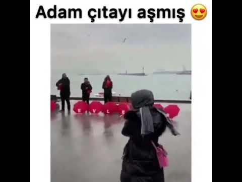 Dünyanın en iyi evlenme teklifi Yer:Türkiye/İstanbul