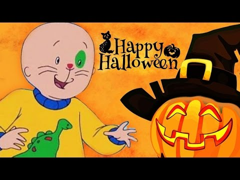CAILLOU  Caillou's Halloween  2 HOUR COMPILATION  Cartoons For Kids 🎃