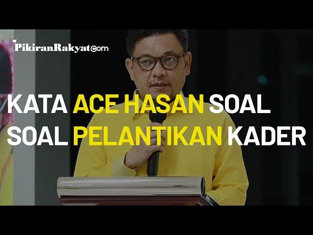 Kadernya Telah Dilantik Menjadi Kepala Daerah, Ini Kata Plt Ketua Partai Golkar Jawa Barat