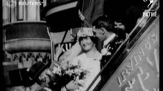 Esperanto wedding- a first for Church of England (1926)