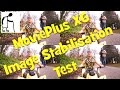 MoviePlus X6 Image Stabilisation Test Action Man RC Quadbike run