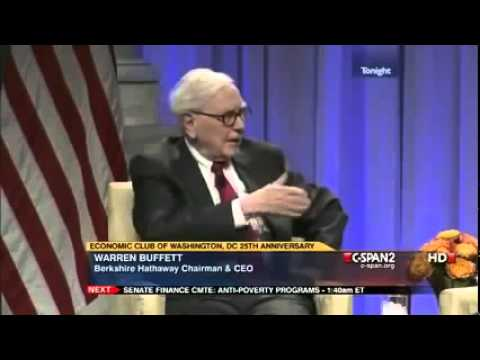 Warren Buffett's First Investment  Interview on Economic Recovery, Finance, Stock
