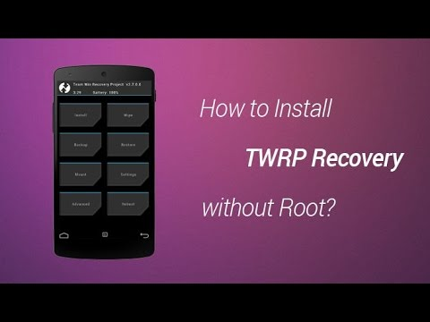 GET CUSTOM RECOVERY NO ROOT, NO APP IN CUSTOM ROM