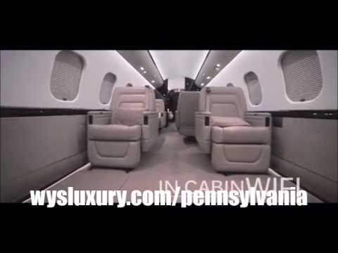 Private Jet Air Charter Flight Service From or To Philadelphia, Pittsburgh, Allentown, Pennsylvania
