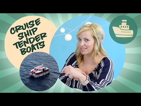 Cruise ship tender boats
