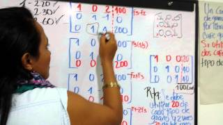 Sistema Ecuaciones Lineales y Matriz Escalonada