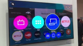 Panasonic 2015 smart TV demo, powered by Firefox OS - CES 2015