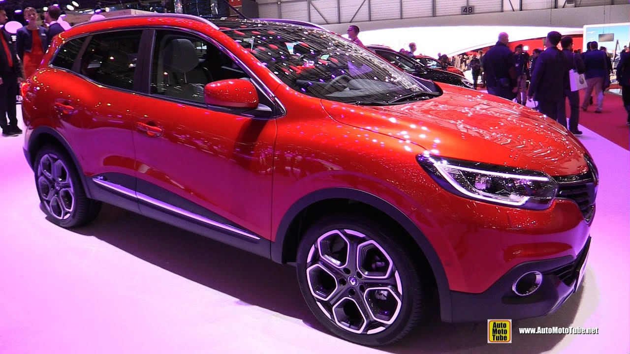 Kadjar Interior 2017 >> 2016 Renault Kadjar - Exterior and Interior Walkaround - 2015 Geneva Motor Show - YouTube