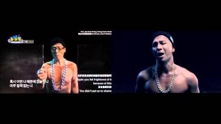 Yoo Jae Suk ft Tae Yang - Eye Nose Lips mv
