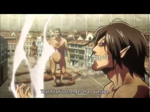 Eren's Titan Rampage Full Fight English Dub