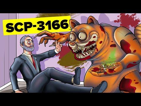 SCP-3166 – Нападение монстра Гарфилда (Анимация SCP)