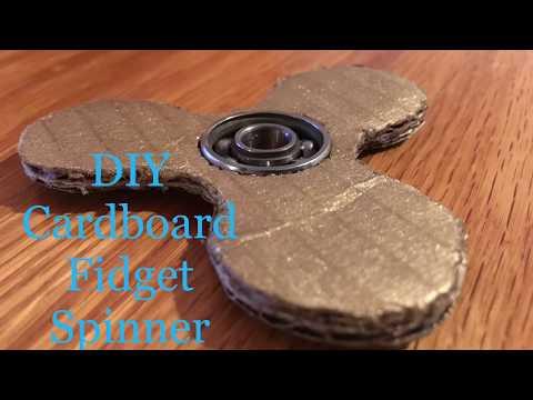 DIY Cardboard Fidget Spinner