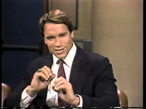 Arnold Schwarzenegger on Late Night, June 27, 1984