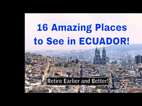 16 Best Places to Visit in Ecuador - ECUADOR TRAVEL VLOG