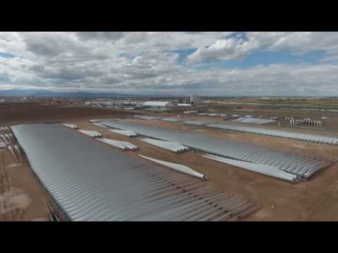 Vestas Wind Energy Drone Video Colorado