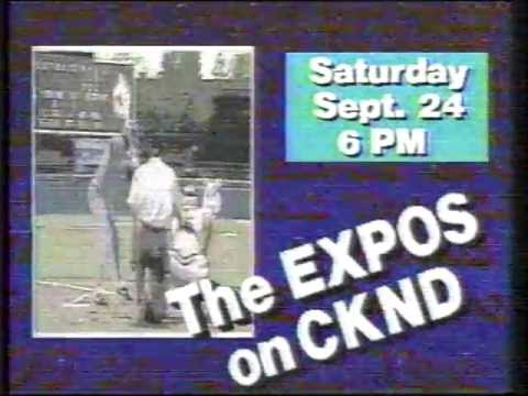 Montreal Expos - CKND promo