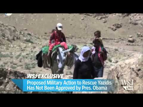 U.S. Military Considers Plans to Rescue Stranded Yazidis