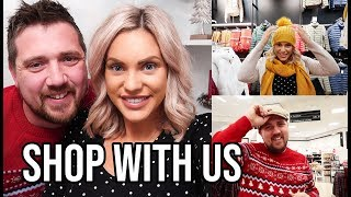 COME CHRISTMAS SHOPPING WITH US | HUSBAND AND WIFE SHOPPING SPREE
