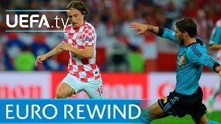UEFA EURO 2012 highlights: Croatia 0-1 Spain