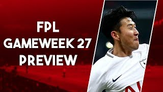 MY FPL TEAM GAMEWEEK 27 | HITS FOR BLANK GW PLAYERS? | Fantasy Premier League 2018/19