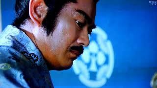 将軍家光の乱心 激突(1989) の序盤の顔芸