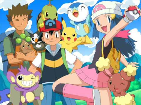 Pokemon Diamond and Pearl Ending -Kimi No soba De Full Version