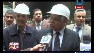 صباح دريم | وزير النقل يتفقد المرحلة الرابعة للخط الثالث لمترو الأنفاق