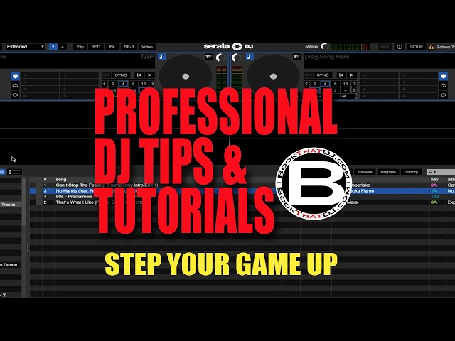 Professional DJ Tip How To Color Coordinate Tracks in Serato