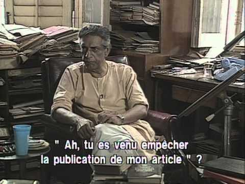 Satyajit Ray interviewed by Pierre  Andre Boutang  1989 Part II