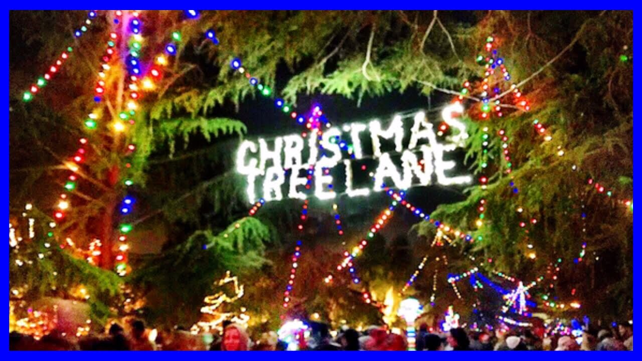 christmas tree lane van ness ave fresno california