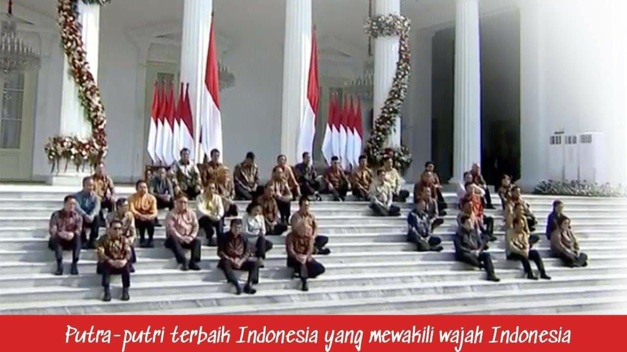 SUSUNAN KABINET MENTERI INDONESIA MAJU JOKOWI-MA'RUF 2019-2024