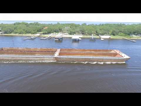 Gulf ICW Barge Traffic