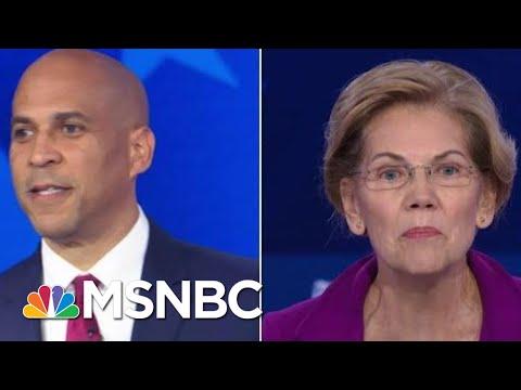 Cory Booker Criticizes Elizabeth Warren's 'Cumbersome' Wealth Tax | MSNBC