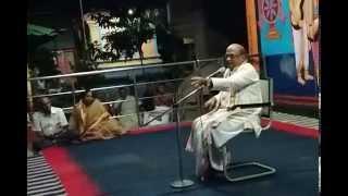 Part10 Sri Krishna Leelalu. Sri Garikipati Narasimha Rao gari pravachanam June 2015