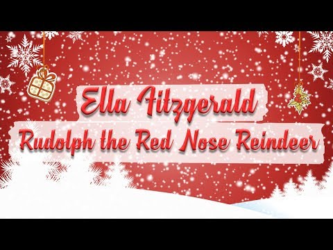 ella fitzgerald bing crosby rudolph the red nosed reindeer christmas essentials