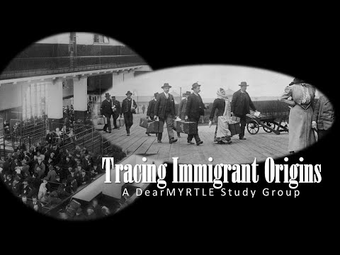 Tracing Immigrant Origins - Historical Immigration & Naturalization Records