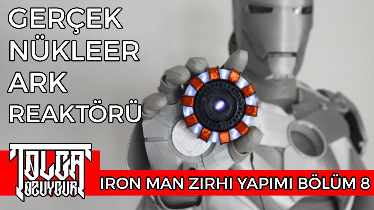 Nükleer Ark Reaktörü - Iron Man Zırhı Yapımı - Bölüm 8
