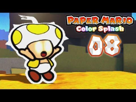 paper mario: color splash - part 8: daffodil peak! - youtube