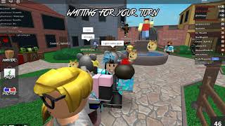 Roblox Murder Mystery 2 Playing with friends part 1