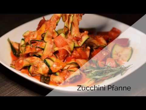 Leckere vegetarische rezepte mit zucchini