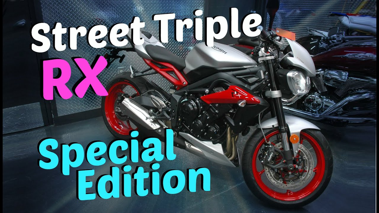 2015 triumph street triple rx special edition walkaround youtube. Black Bedroom Furniture Sets. Home Design Ideas