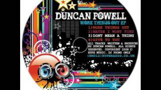 Duncan Powell - Maybe i wont find - 2 STEP UK GARAGE - HYPE MUSIC 2008